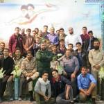 مراسم یادواره شهدای پایگاه امام حسن مجتبی (ع) شهرستان سرخه