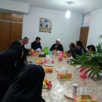 دیدار رئیس اداره منابع طبیعی شهرستان سرخه با امام جمعه محترم