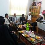 دیدار رئیس کمیته امداد امام خمینی (ره) شهرستان سرخه با امام جمعه محترم