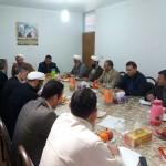 جلسه ستاد احیای امر به معروف و نهی از منکر شهرستان سرخه