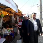 بازدید امام جمعه محترم از نمایشگاه صنایع دستی در شهرستان سرخه