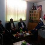 دیدار نوروزی شهردار محترم سرخه با امام جمعه محترم
