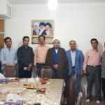 دیدار سرپرست و خبرنگاران پایگاه خبری سور نیوز با امام جمعه محترم