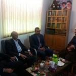 دیدار رئیس اداره ثبت اسناد و املاک شهرستان سرخه با امام جمعه محترم