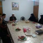 دیدار رئیس اداره اموزش و پرورش شهرستان سرخه با امام جمعه محترم