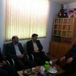 دیدار روسای ادارات آب ، برق و گاز شهرستان سرخه با امام جمعه محترم