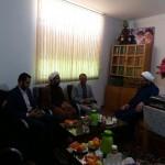 دیدار رئیس محترم کمیته امداد امام شهرستان سرخه با امام جمعه محترم