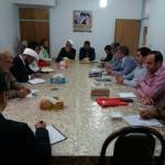 جلسه هماهنگی راهپیمایی روز قدس و نماز عید سعید فطر در شهرستان سرخه