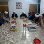 جلسه ستاد یادواره شهدای روحانی شهرستان سرخه