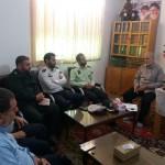 جلسه برنامه ریزی برای اقامه نماز عید فطر در شهرستان سرخه