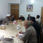 دیدار رئیس اداره جهاد کشاورزی شهرستان سرخه با امام جمعه محترم