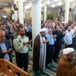 اقامه نماز با شکوه عید سعید فطر در شهرستان سرخه