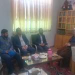 دیدار رئیس اداره اب شهرستان سرخه با امام جمعه محترم