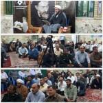 مراسم بزرگداشت شهدای هفتم تیر در شهرستان سرخه