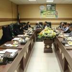 جلسه شورای پشتیبانی سواد اموزی اداره اموزش و پرورش شهرستان سرخه