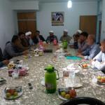 جلسه مشترک نمایندگان هیئت امنای مساجد شهر سرخه با مدیر کل اوقاف سمنان