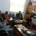 دیدار تعدادی از مسئولین کمیته امداد امام استان و شهرستان با امام جمعه محترم