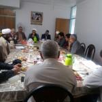 دیدار رئیس ستاد بازسازی عتبات عالیات استان سمنان با امام جمعه محترم