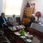 دیدار شهردار شهر سرخه و رئیس اداره تبلیغات اسلامی شهرستان با امام جمعه محترم
