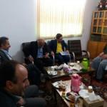 دیدار اعضای کمیته ارتباطات و فناوری اطلاعات استان سمنان با امام جمعه محترم
