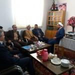 دیدار مدیر کل فرهنگ و ارشاد اسلامی استان سمنان با امام جمعه محترم