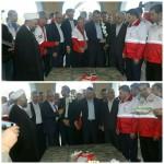 حضور دکتر پیوندی رئیس هلال احمر جمهوری اسلامی ایران در شهرستان سرخه