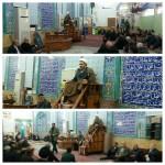 مراسم بزرگداشت رحلت آیت الله هاشمی شاهرودی در شهرستان سرخه