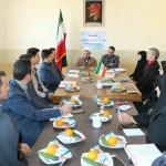 جلسه شورای اموزش و پرورش شهرستان سرخه