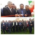 افتتاح زمین چمن مصنوعی شهرستان سرخه در دهه فجر
