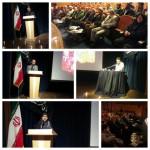 مراسم شب شعر و خاطره انقلاب فاطمی در شهرستان سرخه در دهه فجر