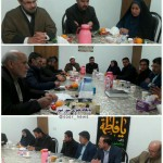 نشست هم اندیشی دهیاران روستاهای شهرستان سرخه با امام جمعه محترم