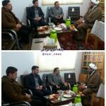 دیدار رئیس و پرسنل درمانگاه مادر شهرستان سرخه با امام جمعه محترم