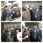 افتتاح نمایشگاه انقلاب ماندگار در شهرستان سرخه در دهه فجر