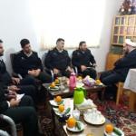 دیدار فرماندهی نیروی انتظامی شهرستان سرخه با امام جمعه محترم