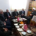 دیدار مدیر کل کمیته امداد امام خمینی (ره) استان سمنان با امام جمعه محترم