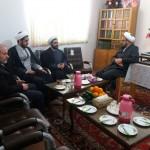 دیدار رئیس اداره تبلیغات اسلامی شهرستان با امام جمعه محترم