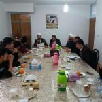 جلسه هماهنگی نکوداشت آیت الله اختری در شهرستان سرخه