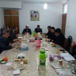 جلسه هماهنگی بزرگداشت روز شهید در شهرستان سرخه