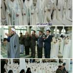 مراسم جشن تکلیف دانش اموزان در شهرستان سرخه