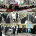 مراسم روز شهید در گلزار شهدای سرخه
