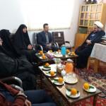 دیدار رئیس اداره آموزش و پرورش شهرستان سرخه با امام جمعه محترم