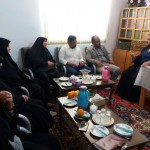 دیدار بخشدار مرکزی شهرستان سرخه با امام جمعه محترم