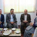 دیدار معاون سیاسی امنیتی استاندار سمنان با امام جمعه محترم