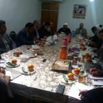 تشکیل جلسه شورای زکات در شهرستان سرخه