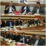 جلسه بررسی مشکلات حوزه راه و شهرسازی شهرستان سرخه
