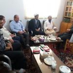 دیدار رئیس اداره تبلیغات اسلامی شهرستان سرخه با امام جمعه محترم