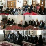 دیدار امام جمعه محترم با خانواده های تحت پوشش بهزیستی