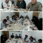 نشست امام جمعه محترم با جوانان فعال فرهنگی