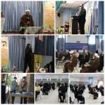 مراسم تجلیل از طلایه داران گام دوم انقلاب در شهرستان سرخه