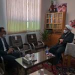 دیدار مدیر کل میراث فرهنگی استان سمنان با امام جمعه محترم